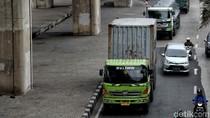 Truk Kontainer Kembali Beroperasi di Jakut