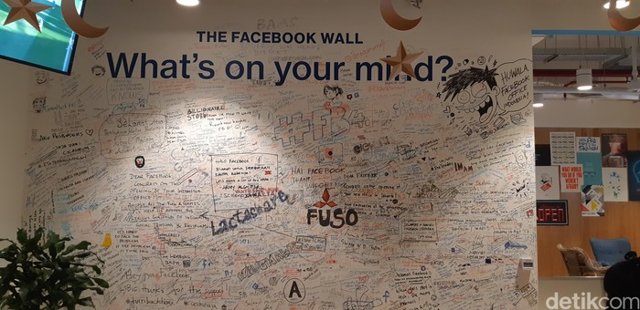 Kantor Facebook. Foto: detikINET/Virgina Maulita Putri