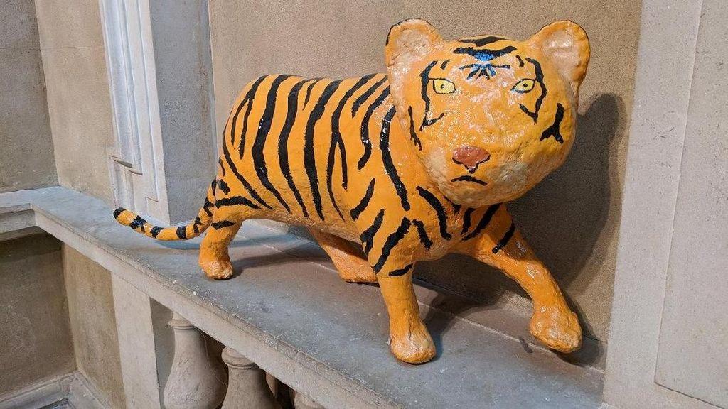 Laku Rp 15 Juta, Seniman London Bikin Patung Mirip Macan Cisewu