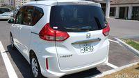 Honda Freed model terbaru di Jepang