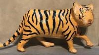 Patung macan hasil karya Peter Flory berhasil masuk dalam ajang Summer Exhibition 2018 di Royal Academy of Art di London, Inggris.Dok.Royal Academy of Art