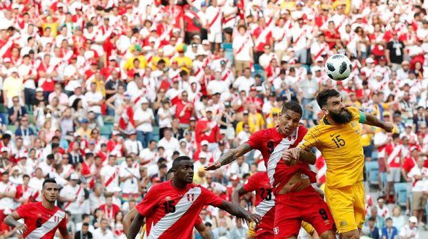 Australia menemani Peru sebagai tim yang tersingkir dari grup C Piala Dunia 2018.