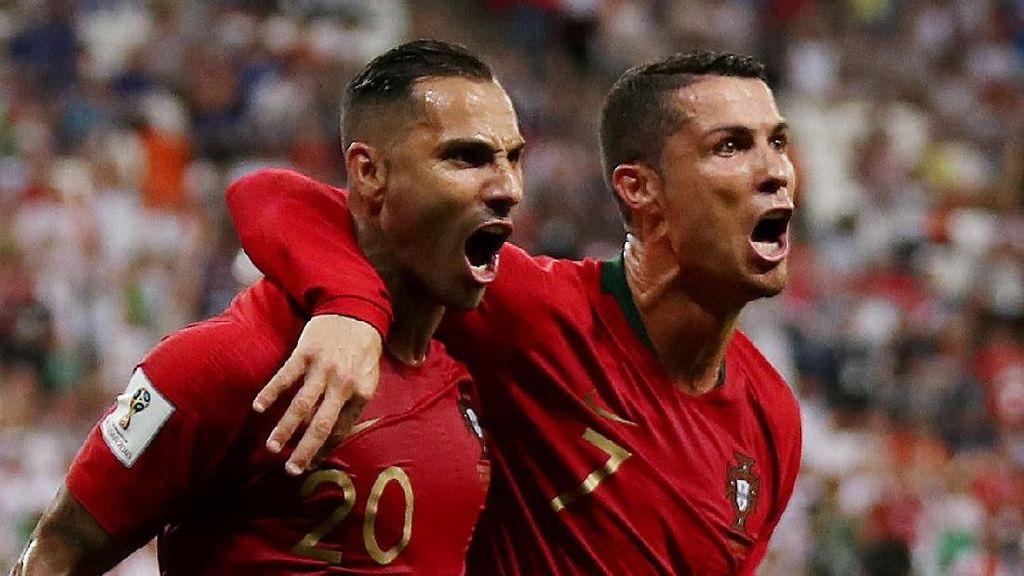 Wakapolri dan Menpora Kompak Jagokan Portugal di Piala Dunia 2018