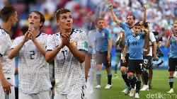 Uruguay dan Rusia Lolos ke Babak 16 Besar Piala Dunia 2018