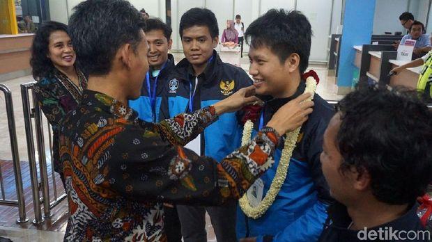Indonesia Juara Piala Dunia Sepakbola Robot