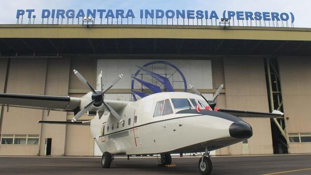 Dua Pesawat NC212i Made In Bandung Diterima Angkatan Udara Filipina