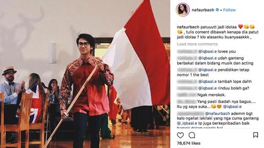 Masih Sendiri, Nafa Urbach Nunggu Iqbaal Ramadhan?