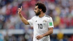 Aksi Mohamed Salah Warnai Kepulangan Mesir