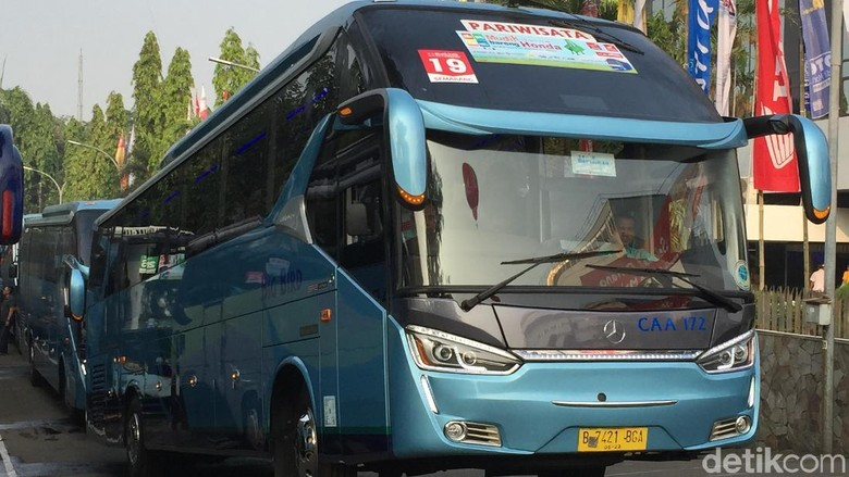 Legacy Sky XHD Prime dengan sasis Mercy (Foto: Dadan Kuswaraharja)