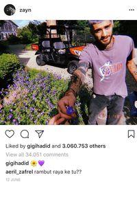 Komentar-komentar Ini Buktikan Gigi Hadid dan Zayn Malik Balikan?