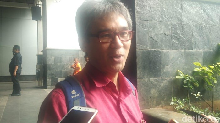 Ketua TGUPP Bidang Pengelolaan Pesisir, Marco Kusumawijaya (Zhacky-detikcom)