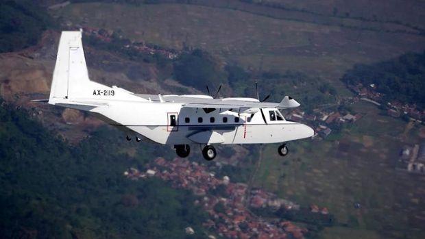 Pesawat NC212i buatan PT Dirgantara Indonesia