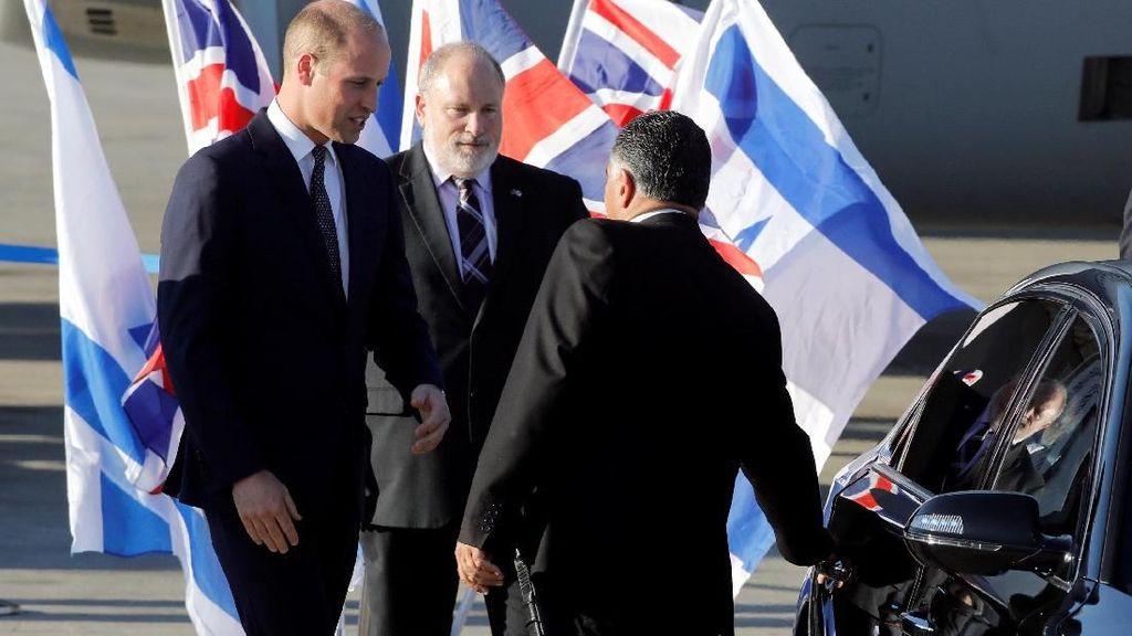 Tiba di Israel, Pangeran William akan Mulai Kunjungan Bersejarah