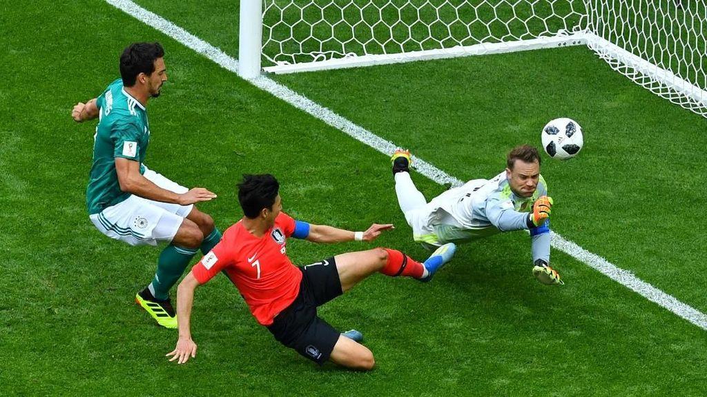 Turun Minum, Korea Selatan vs Jerman Masih 0-0