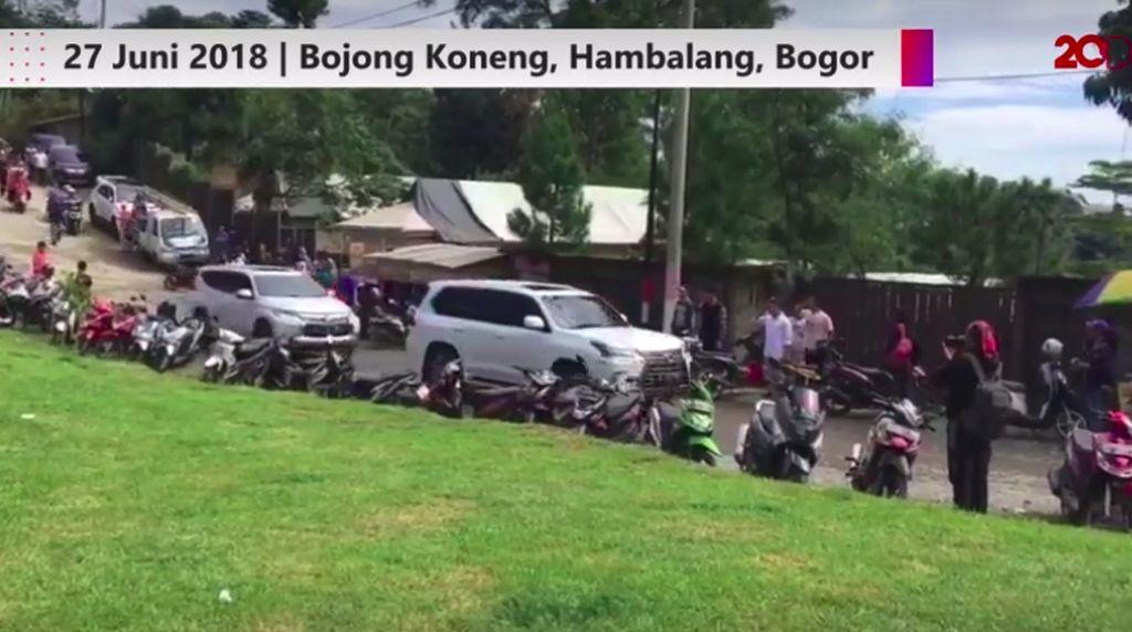 Prabowo Nyoblos ke TPS Naik SUV Mewah Ini