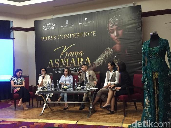 Jumpa pers pameran pernikahan adat Kama Asmara. (Foto: Daniel Ngantung/Wolipop)