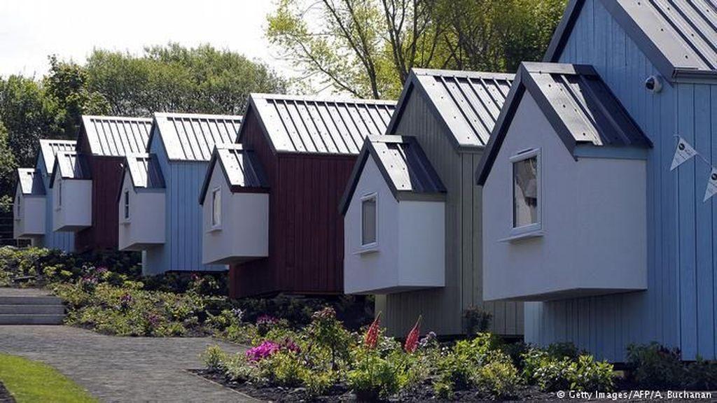 Uniknya Kampung Bagi Tunawisma di Skotlandia