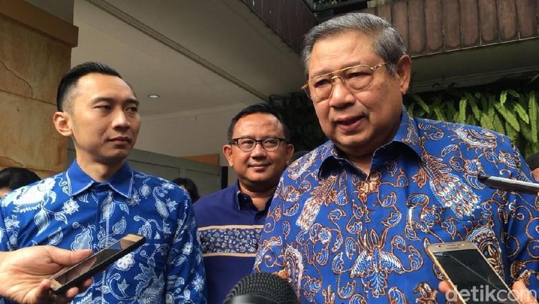 SBY: Dua Kali Capres, Saya Tak Pernah Paksa Ketum Partai Kampanye