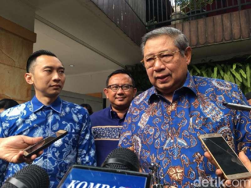 SBY: Dua Kali Capres, Saya Tak Pernah Paksa Ketum Lain Kampanye