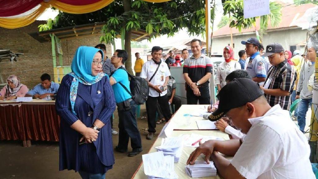 Blusukan ke TPS di Sumut, DPD Soroti Fenomena Kotak Kosong