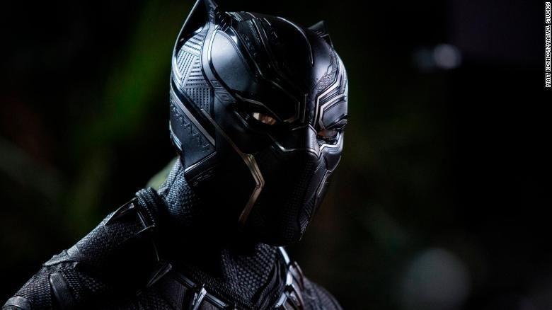 Superhero Black Panther (Matt Kennedy/Marvel Studios)