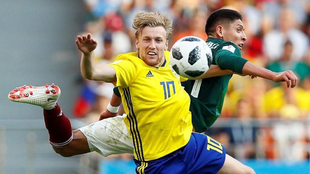 Video Highlights Babak I Meksiko Vs Swedia