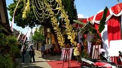 TPS Bertema Hajatan, Wujud Pesta Pilgub Jatim 2018 Damai