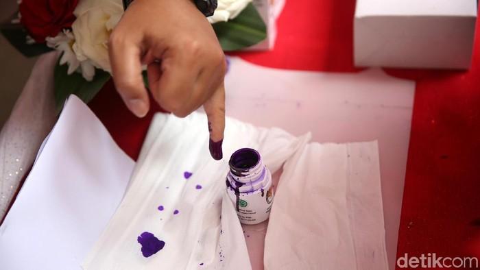 Ilustrasi tinta pemilu (Foto: Agung Pambudhy)