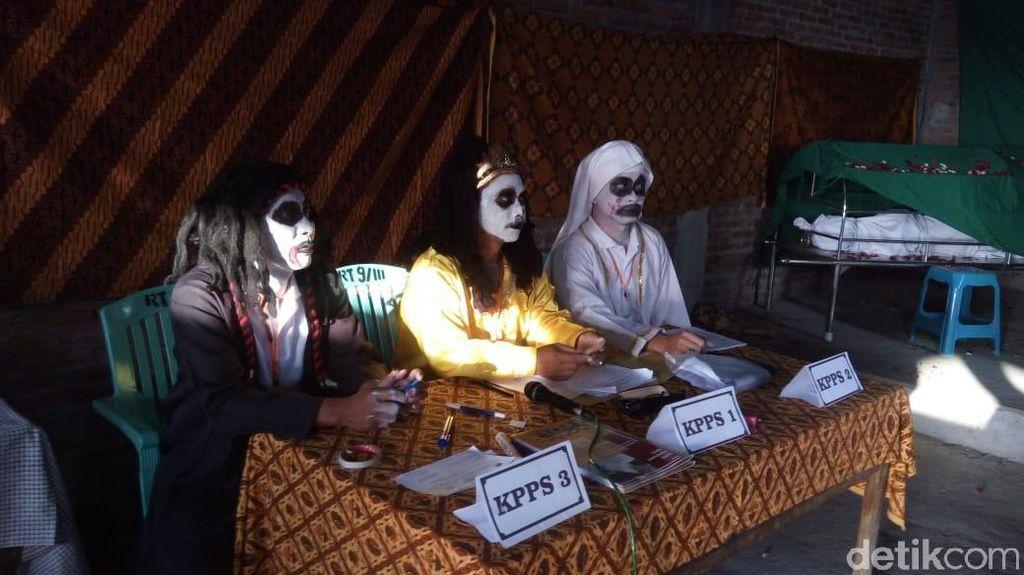 TPS di Semarang ini Seram, Pemilih Berani Datang Nggak ya?