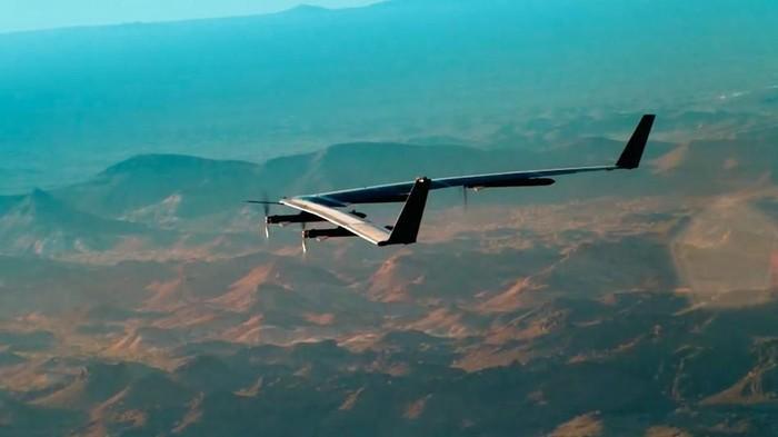 Drone Facebook. Foto: Mashable