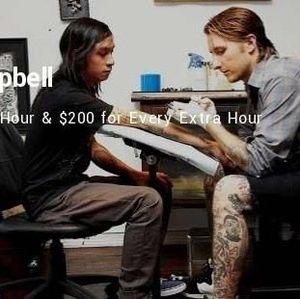 Bikin Tato, Deretan Seniman Ini Diba   yar hingga Rp 7 juta/Jam