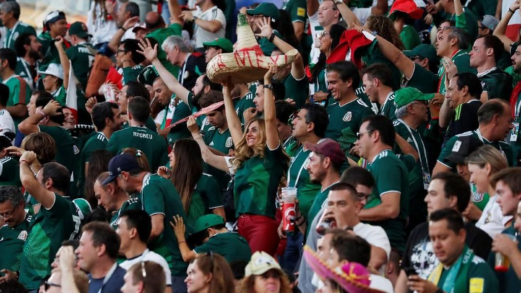 Tequila dari Fans Meksiko ke Dubes Korsel, Terkait Piala Dunia 2018