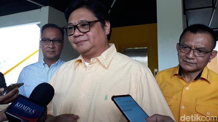Menteri Perindustrian Airlangga Hartarto/Foto: Tsarina Maharani-detikcom