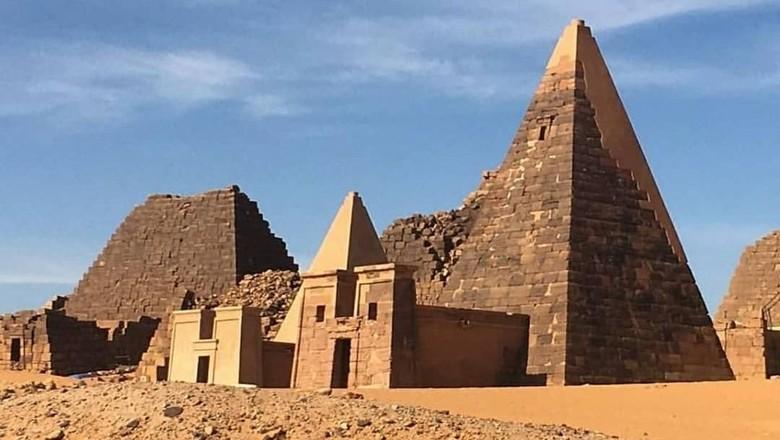 Jebel Barkal di Sudan (riomalki/Instagram)