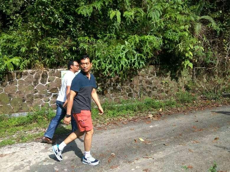 Ayo olahraga agar tubuh menjadi bugar dan pikiran tenang. #SemangatBaruSumut, tulis calon Gubernur Sumatera Utara, JR Saragih. Foto: Instagram/jr_saragih