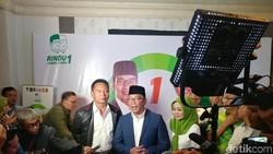 Tb Hasanuddin Temui Ridwan Kamil Ucapkan Selamat