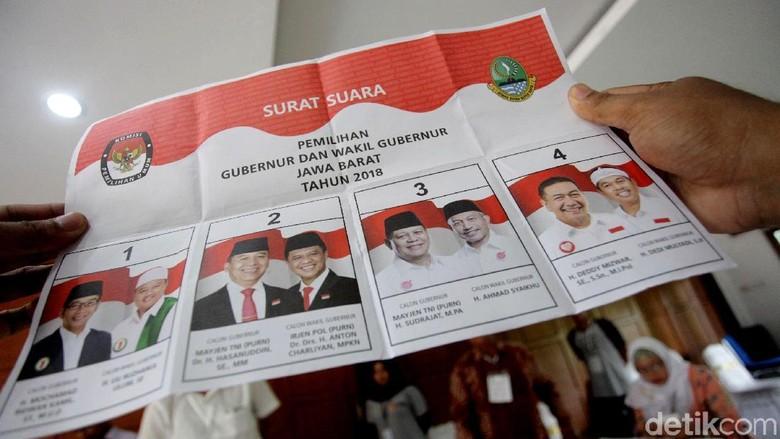 hasil quick count pilkada 2019