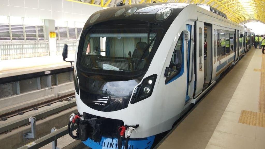LRT Palembang Diuji Coba hingga Kecepatan 85 Km/Jam