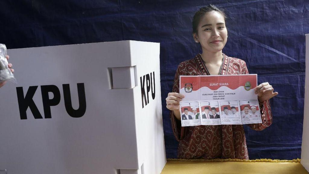 Ini Pesan Ayu Ting Ting untuk Gubernur Jawa Barat Terpilih