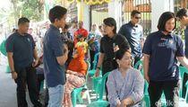 Keluarga Jokowi Nyoblos di Manahan Solo, Begini Suasananya