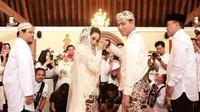 Rizal Armada resmi menikahi sang kekasih Monica Imas, Kamis (28/6). Foto: Dok.Instagram