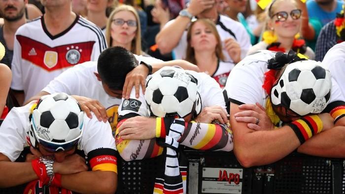 Sedih timnas Jerman kalah? Hati-hati jangan sampai depresi! Foto: Reuters