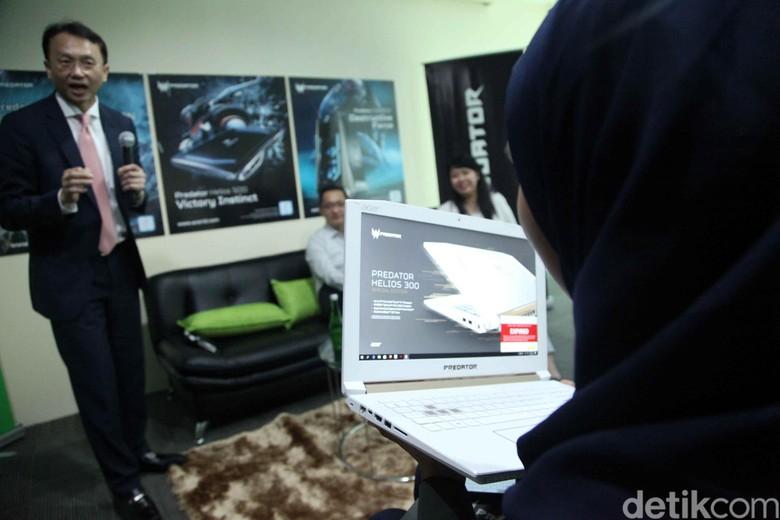 Kehadiran laptop gaming ini untuk mewujudkan misi Acer menjadi pemimpin di pasar laptop game di Tanah Air.