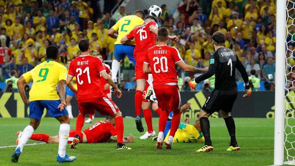 Brasil Tumpas Serbia, Maju ke Babak 16 Besar sebagai Juara Grup E