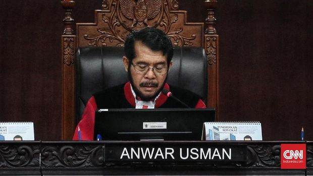 Ketua MK Anwar Usman.