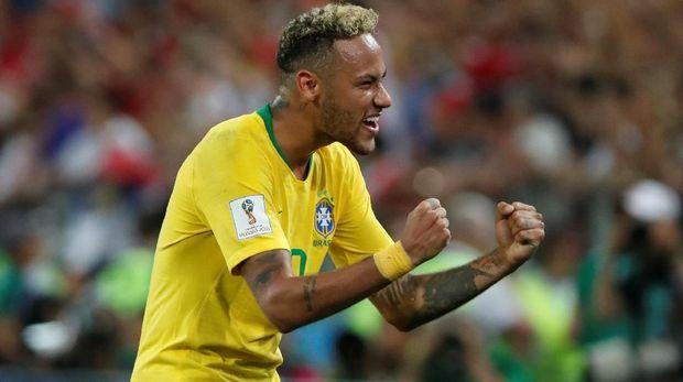 Neymar belum mampu tampil meyakinkan di Piala Dunia 2018.