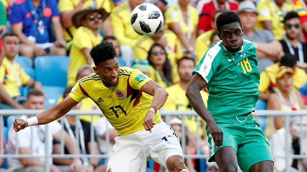 Video Highlights Babak I Senegal Vs Kolombia