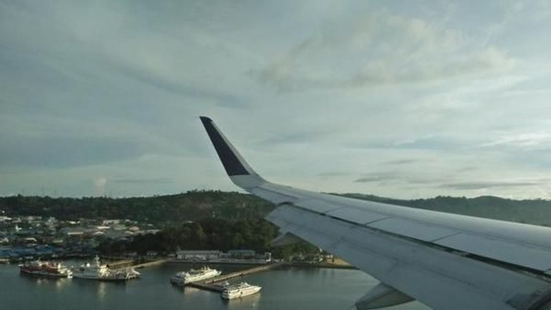Sorong dari pesawat