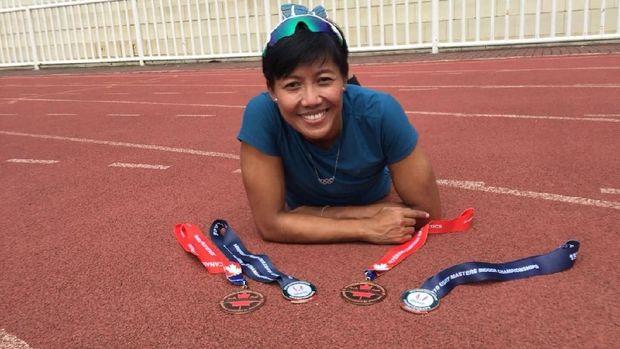 Atlet profesional Dedeh Erawati berbagi tips hidup sehat yang bisa diterapkan sehari-hari.