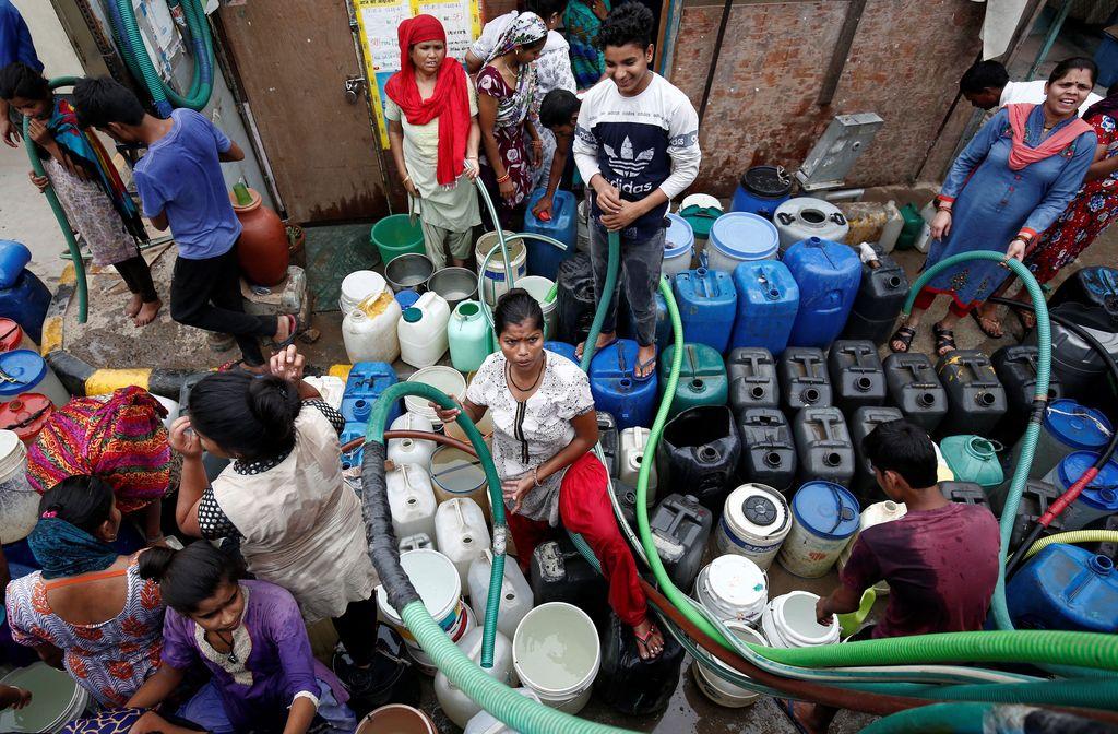 600 juta penduduk India kekurangan stok air bersih. Kondisi ini merupakan yang terparah sepanjang sejarah.